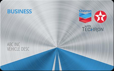 Chevron Texaco Business Card